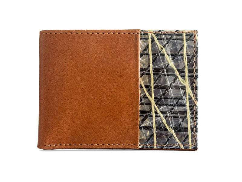 Cape Horn Apparel Brown Bifold Wallet (sail in the cover)