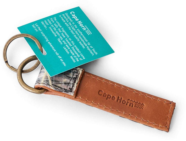 Cape Horn Apparel Brown Keychain