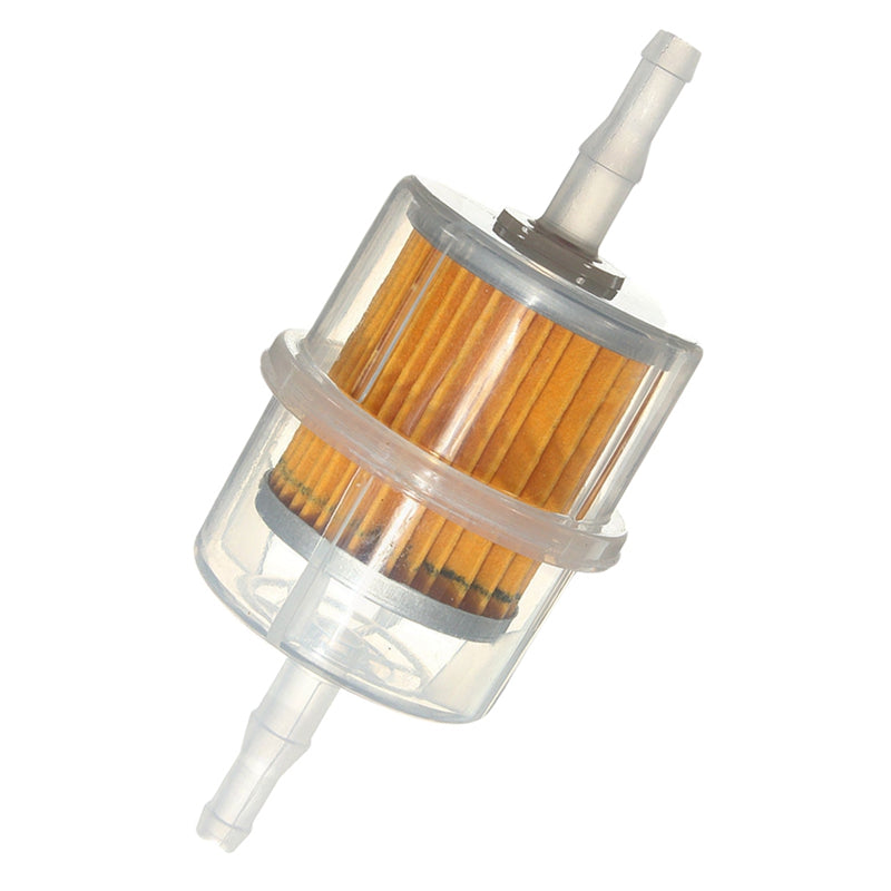 Petrol Inline Fuel Filter Universal fit LARGE Car Part Fit 6mm /& 8mm Pipe