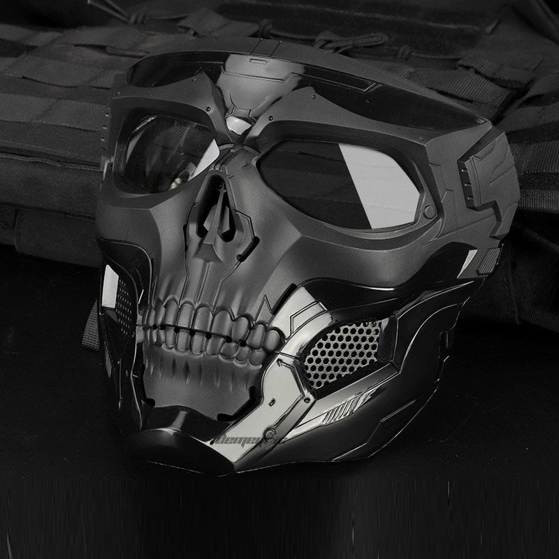 Tactical Paintball Skull Masks Outdoor Breathable Hunting Shooting Sku Auto Supply