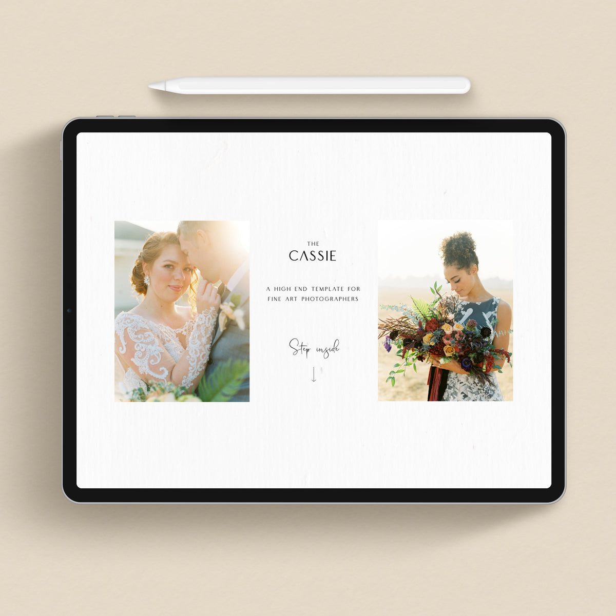 The Cassie - Showit Template - Showit Theme - Showit Design - Showit Website