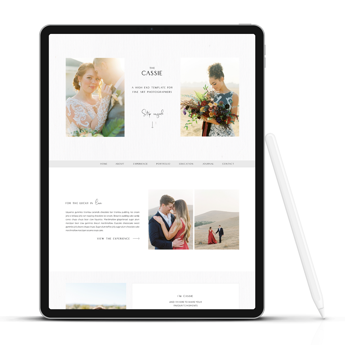 Fine Art Website - Showit Template - Showit Theme - Showit Design - Showit Website