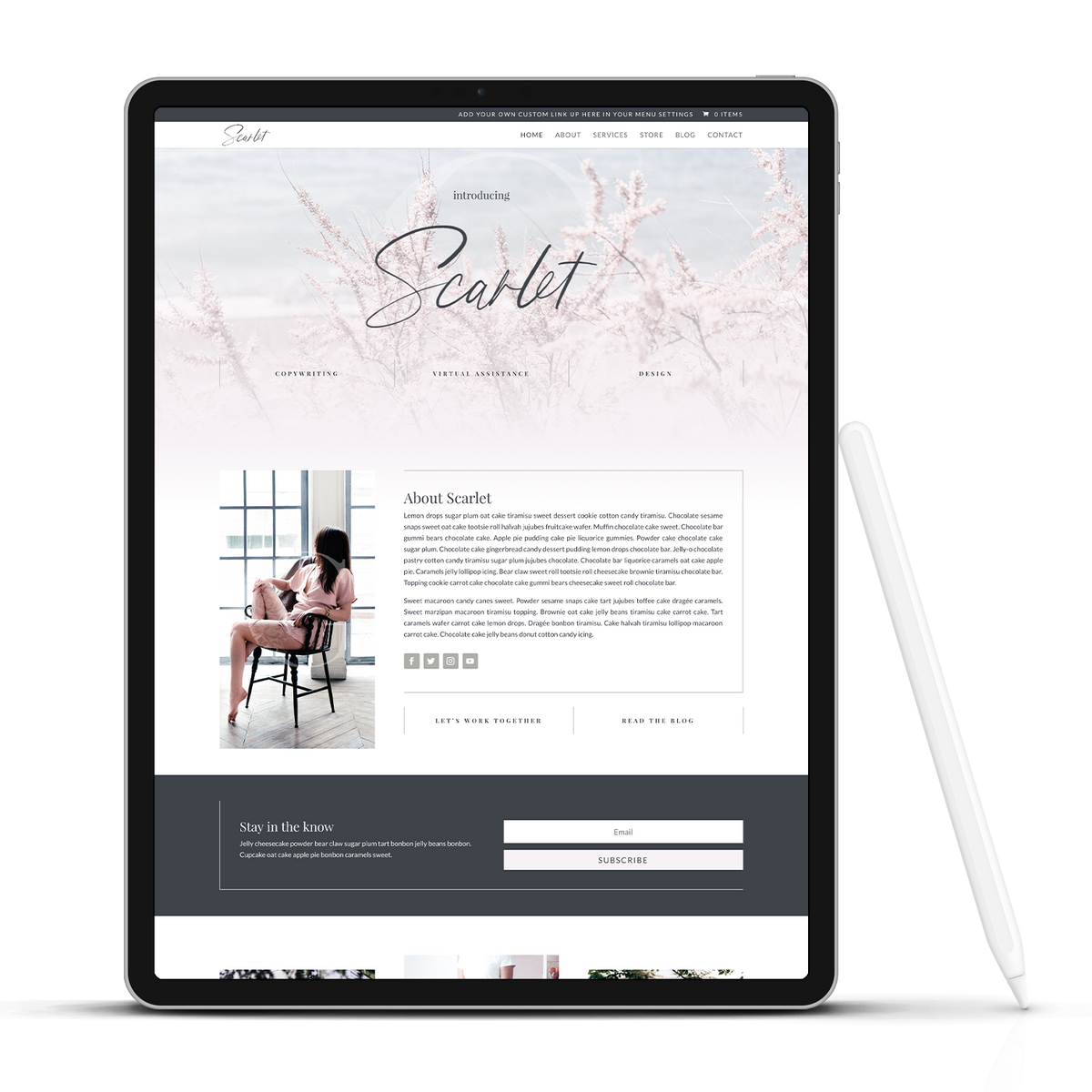 The Scarlet - Wordpress