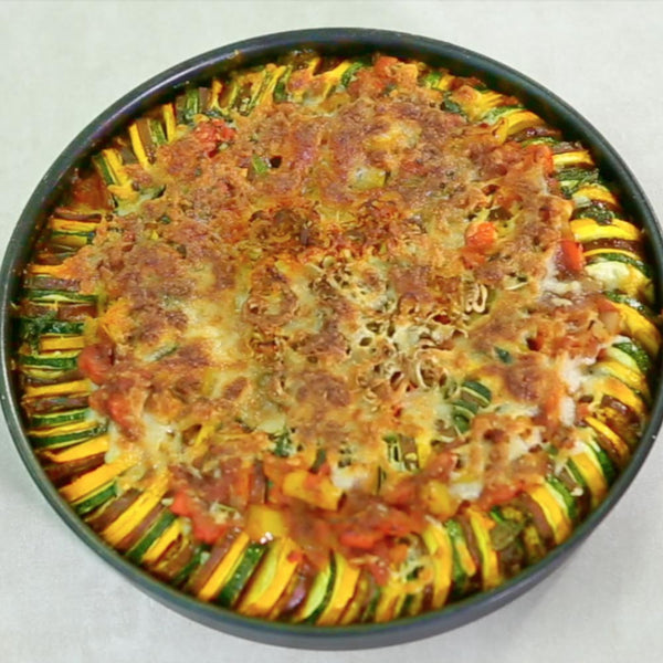 Dysney Style Baked Vegitable Ratatouille