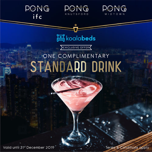 Free Drink Voucher at Pong Hong Kong