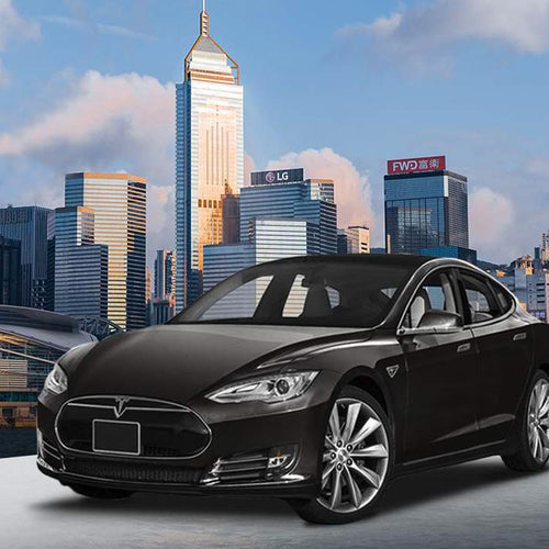 Private Hong Kong International Airport Tesla Transfers(Group of 3)