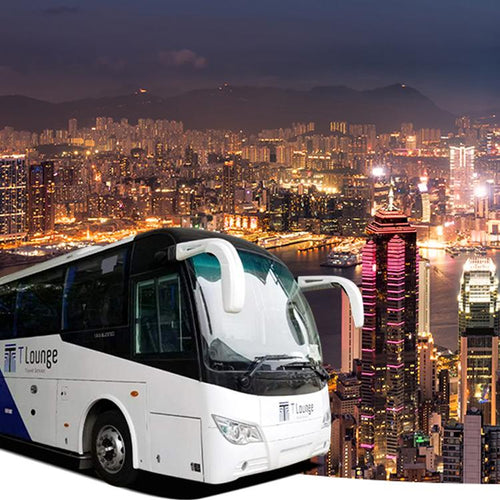 Hong Kong Attactions bus pass (include airport) by T-Lounge