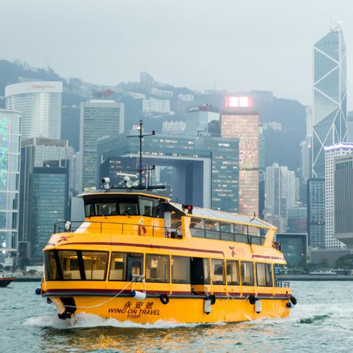 Victoria Harbour Evening Cruise Tour with Unlimited Drink