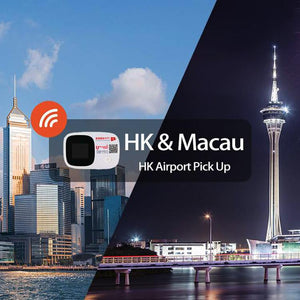 4G WiFi (Hong Kong Pick Up) for Hong Kong & Macau (3/5/8/10day)