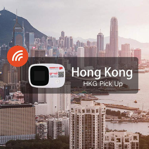 4G WiFi (Hong Kong Pick Up) for Hong Kong (3/5/8/10 day pass)