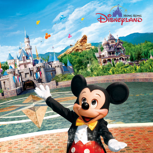 Hong Kong Disneyland Park Ticket (QR Code Direct Entry)