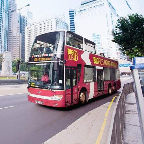Hong Kong Big Bus Walking Tour