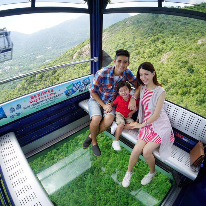 [Skip The Line] Ngong Ping 360 Crystal Cabin (One Way/Round Trip)