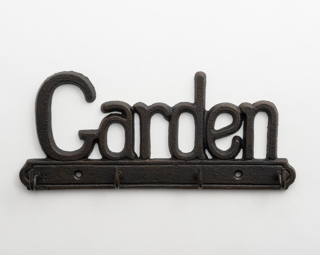 Cast Iron Garden Key Hanger