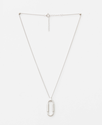 Silver Nina Chain-Link Necklace