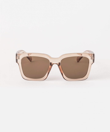 Sunglasses - Avery Transparent Brown