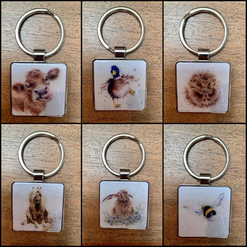 Country Set Keyrings