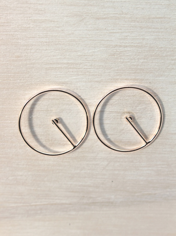 Eclipse Rose Gold Earrings