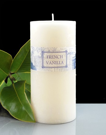French Vanilla Cylinder 70 x 150mm