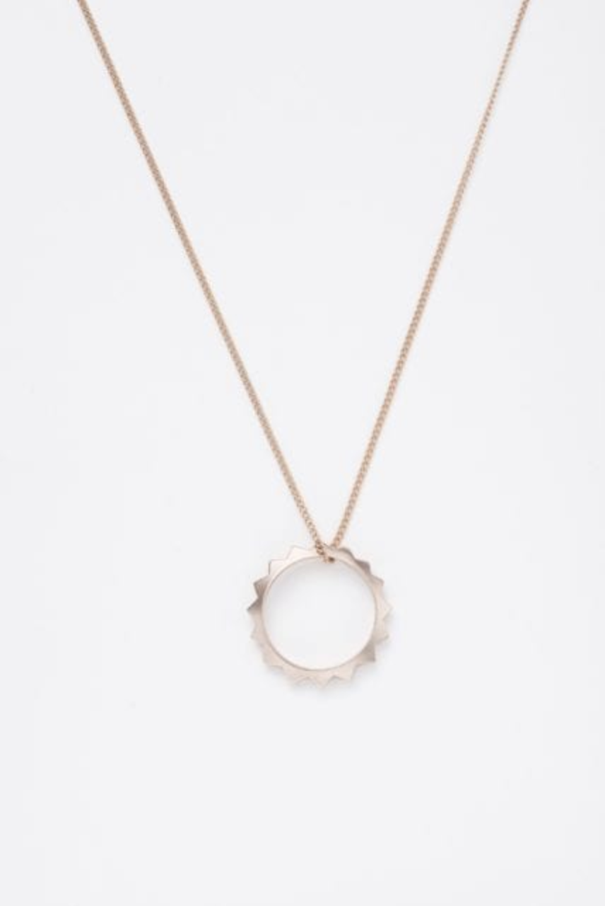 Sphere Champagne Necklace