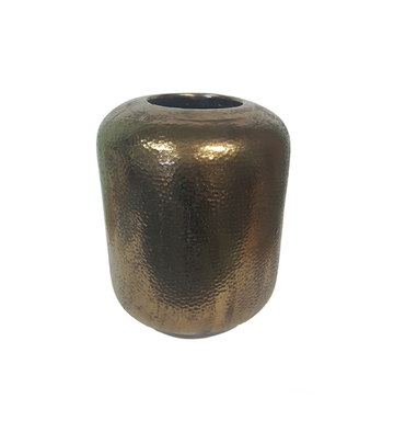 Gold Stoneware Vase - Small