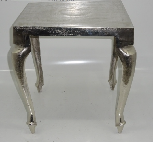 Square Nickel Table