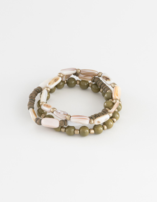 Winter Green Bracelet