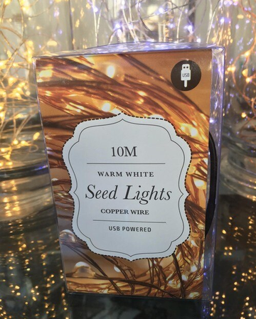 10m USB Copper Wire Seed Lights