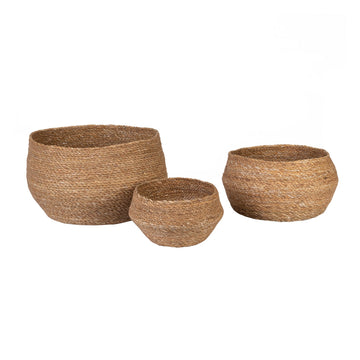 Seagrass Round Basket - Small