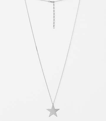 Silver Chain with Star Necklace