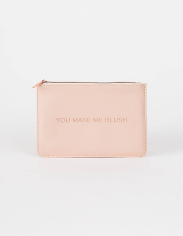 Cosmetic Pouch - You Make Me Blush
