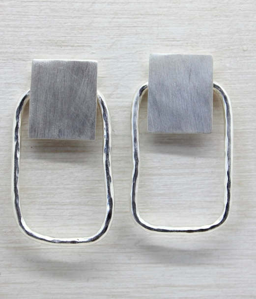 Savoy Square Earring