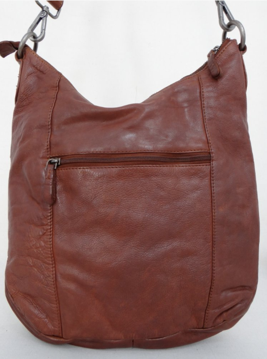 Casual Cross Body Bag - Tan