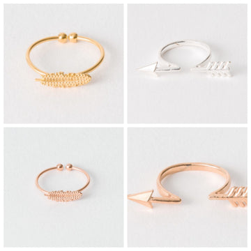 Feather or Arrow Ring