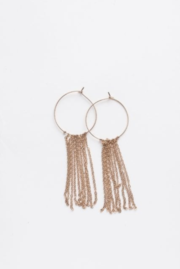 Friday Champagne Earrings