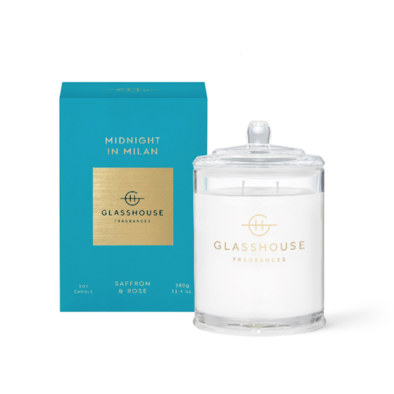 Glasshouse Fragrances Midnight In Milan Candle - 380g