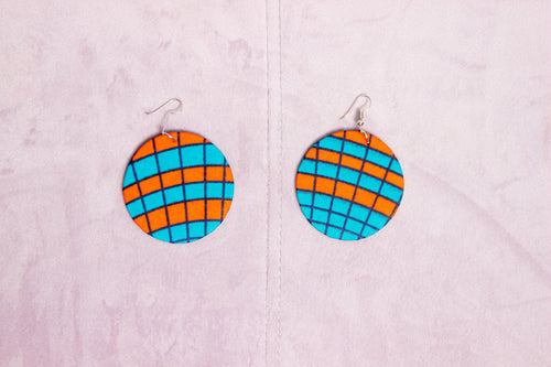 MOYANA HANDMADE AFRICAN PRINT EARRINGS