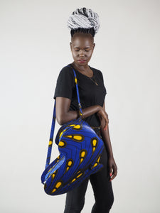 HANDMADE AFRICAN MAP OBYIE BACK PACK