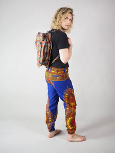 HANDMADE AFRICAN MAP JEON BACK PACK