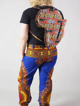 Load image into Gallery viewer, HANDMADE AFRICAN MAP JEON BACK PACK