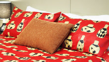Load image into Gallery viewer, CARA HANDMADE AFRICAN PRINT DUVET COVER SET