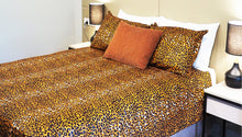 Load image into Gallery viewer, LITOSC HANDMADE AFRICAN PRINT DUVET COVER SET