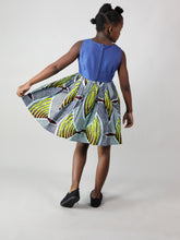 Load image into Gallery viewer, MEILE AFRICAN PRINT KIDS DRESS