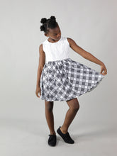 Load image into Gallery viewer, MAHA AFRICAN PRINT KIDS DRESS
