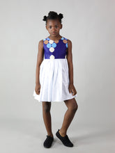 Load image into Gallery viewer, SALEM AFRICAN PRINT KIDS DRESS