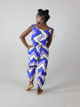 Load image into Gallery viewer, WAYA AFRICAN PRINT KIDS JUMPSUIT
