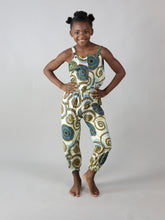 Load image into Gallery viewer, REKEL AFRICAN PRINT KIDS JUMPSUIT