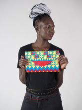 Load image into Gallery viewer, HANDMADE AFRICAN PRINT MEYA CLUTCH BAG