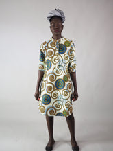 Load image into Gallery viewer, AFRICAN PRINT LADIES' AMELI SHIRT DRESS