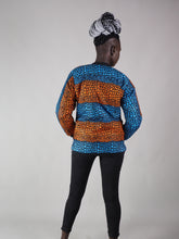 Load image into Gallery viewer, KEME AFRICAN PRINT JACKET